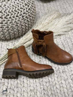 Boots camel Justine