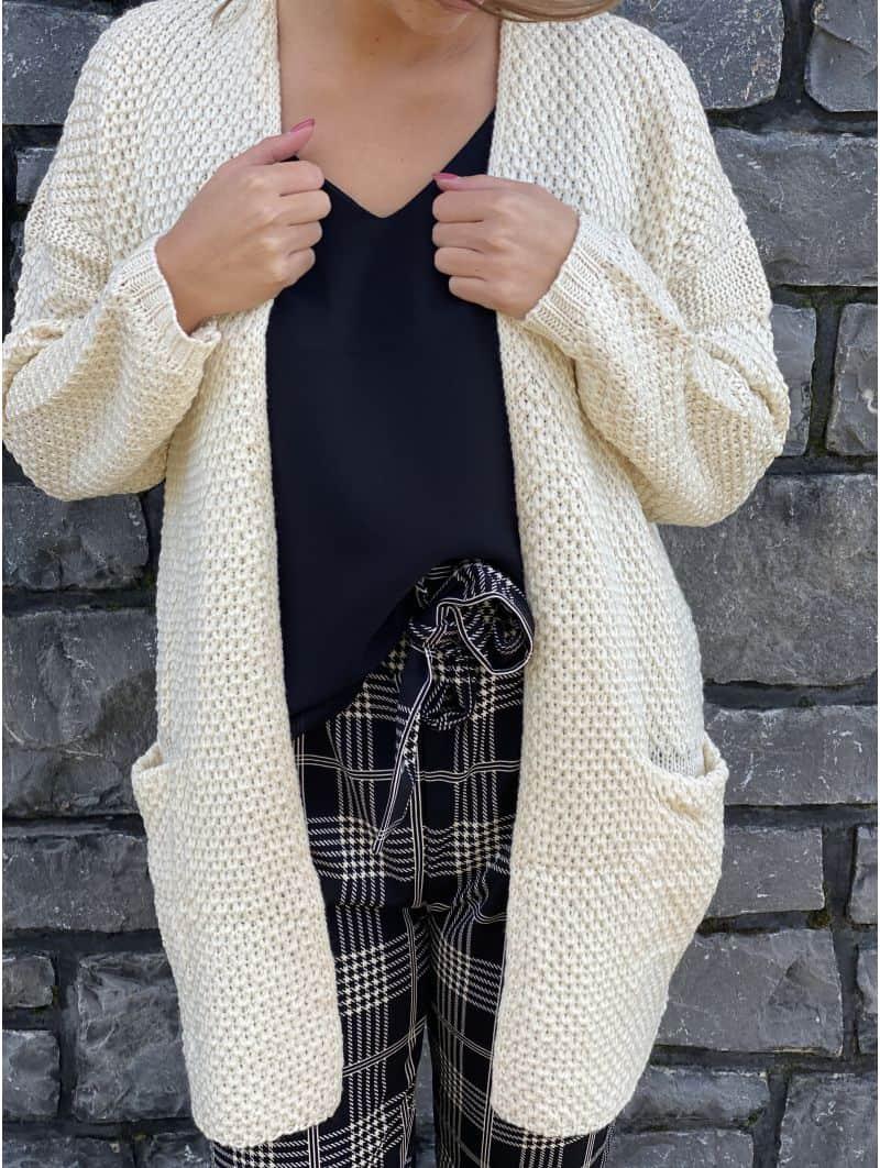 Gilet tricot Lisie