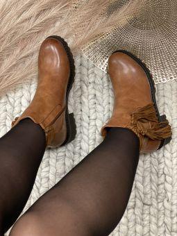 Boots franges Justine
