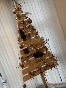 Sapin de Noël en bois 2 m