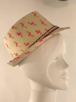 Chapeaux -Chapeau flamants roses adulte