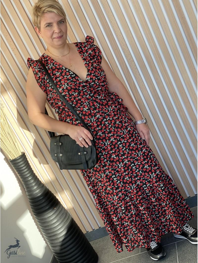 Vêtements femme -Robe longue fleurie