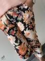 Pantalons et Jeans -Pantalon élastique imprimé Begonia