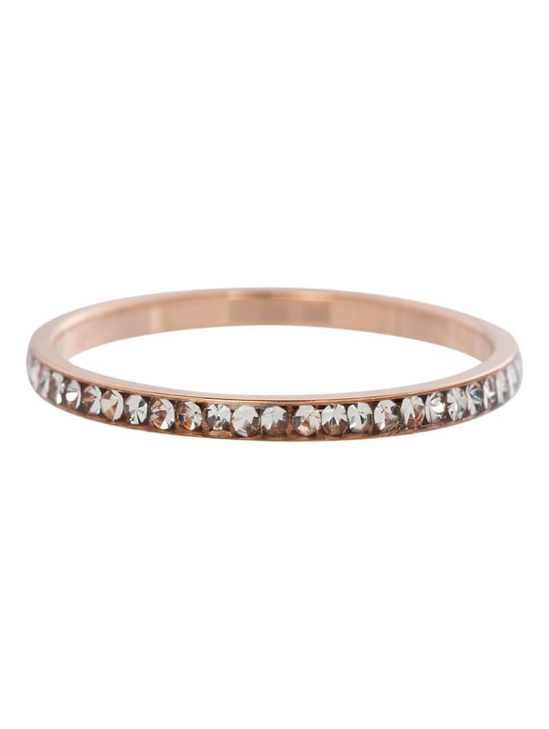 Fill rings -Bague zirconium 2mm Crystal