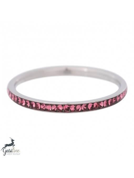 Fill rings -Bague zirconium 2mm Pink