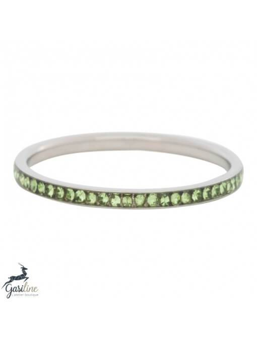 Fill rings -Bague zirconium 2mm Peridot