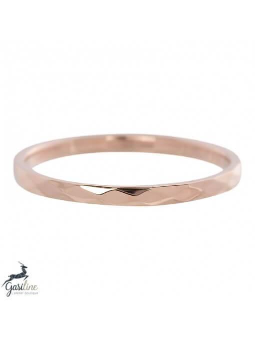Fill rings -Bagues Martelées 2 mm (hammerite)
