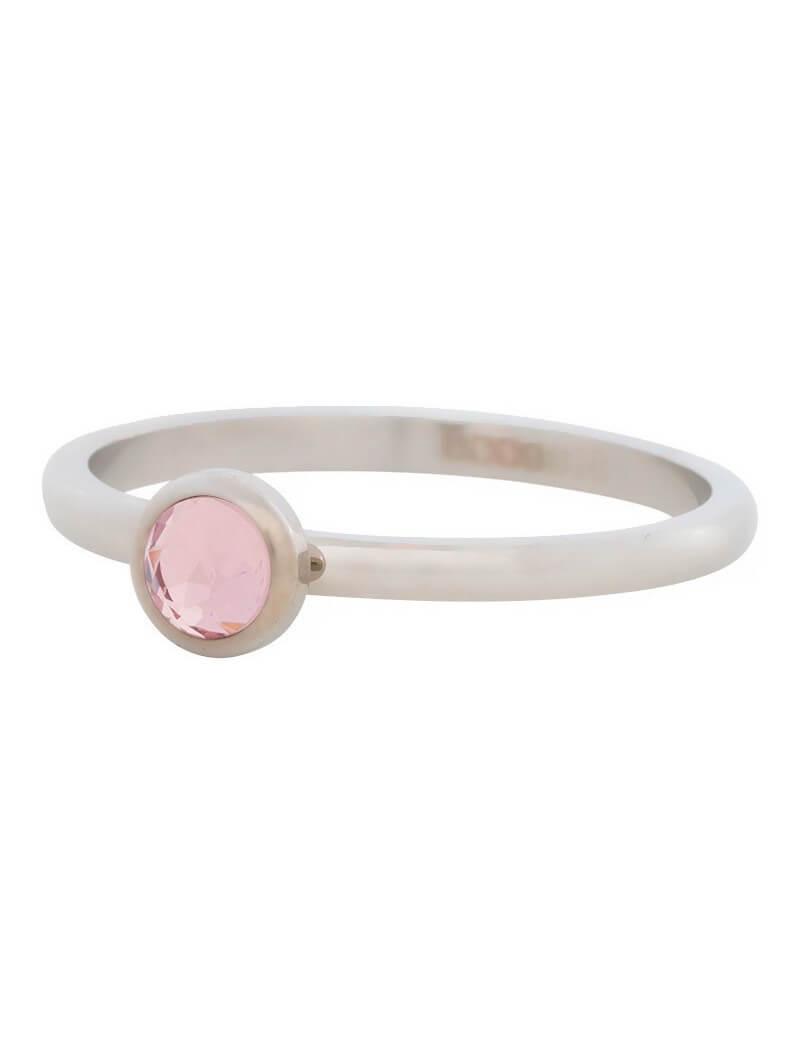 Fill rings -6mm Rose Crystal