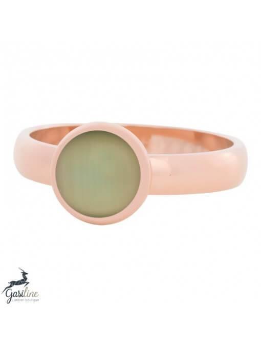 Fill rings -Pierre Oeuil de Chat Verte 10mm