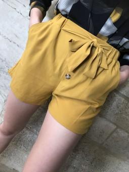 Shorts -Short fluide boutonné