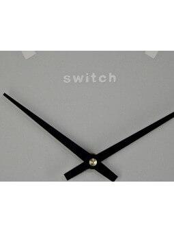 "Horloges -Horloge ronde diamètre 40 cm  ""Rien ne sert de courir"""