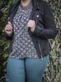 Pantalons & Jeans -Pantalon taille élastique grande taille*