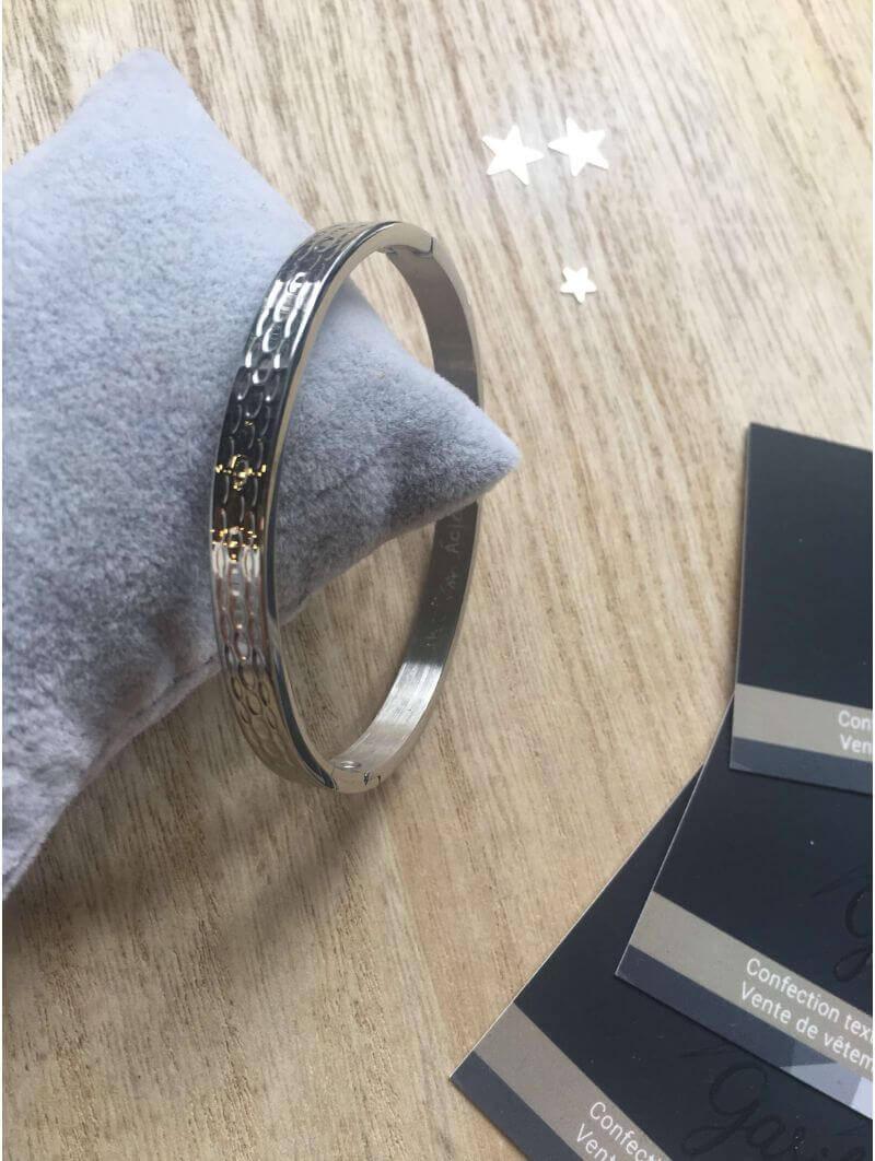 Bracelets -Bracelet métal martelé