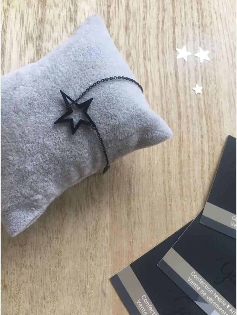 Bracelets -Bracelet chainette petite étoile