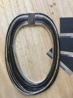 Colliers -Collier fils métallisés