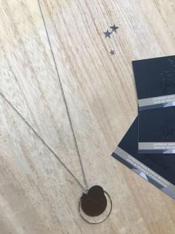 Colliers -Sautoir cercle disque étoile