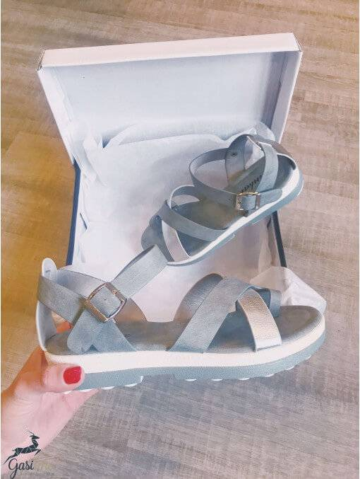 Chaussures OUTLET -Sandales grises