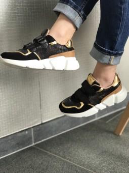 Chaussures -Baskets scratch noire