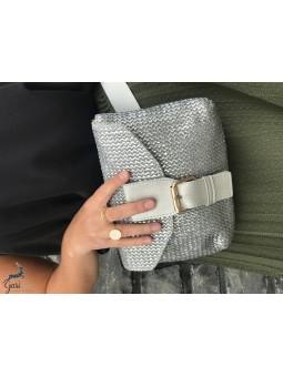 Sacs & Pochettes -Sac-ceinture métallisé
