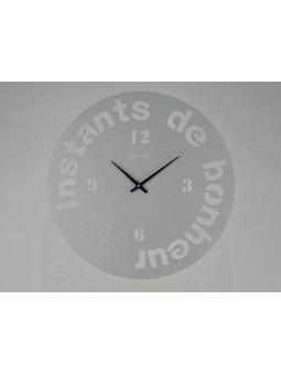 """Horloges -Horloge ronde diamètre 46 cm  """"Instants de bonheur"""""""
