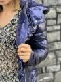 Vestes & Manteaux -Veste Blise fourrée capuche métallisée