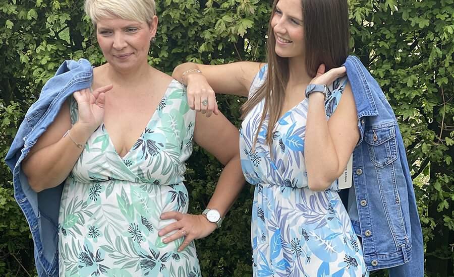 La robe longue imprimée idéale pour être pétillante cet été